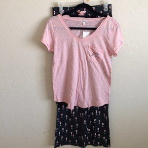 PJ Salvage Rose All Day PJs Women's Size S NWT